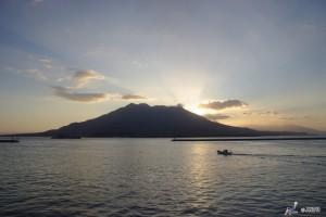 Sakurajima is one of the active volcano in Kyushu. ©Yasufumi Nishi/© JNTO