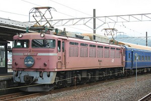 Overnight limited Express train Nihonkai (C) Sonic Rail Garden