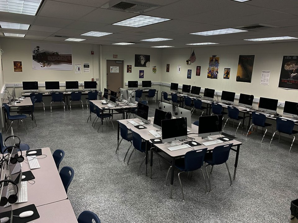 Classroom and Editing Bays