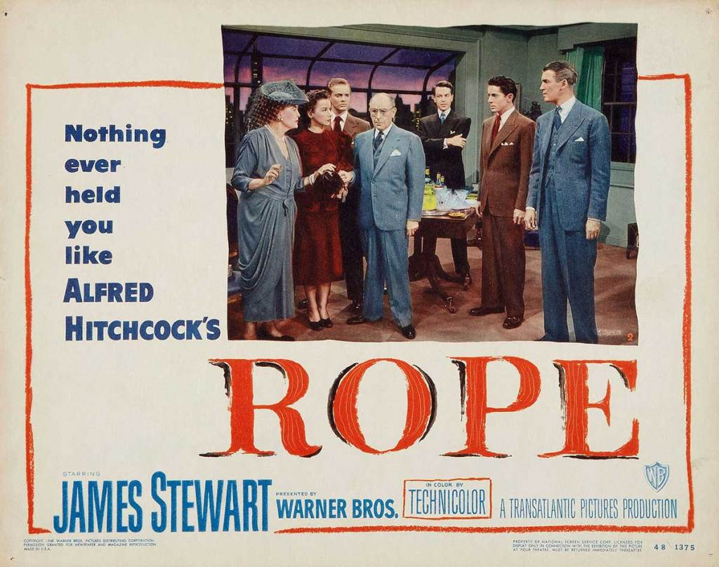 """Rope – A Study of the """"One-Shot"""""""