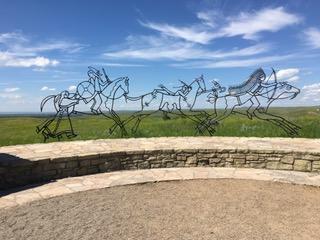 Indian Memorial at the Little Bighorn Battlefield / Jo Roberts