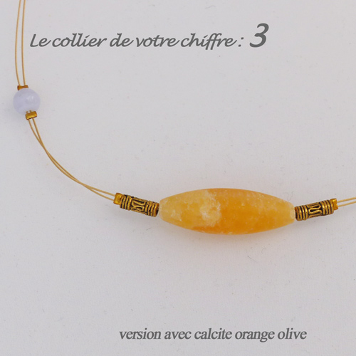 numerologie-collier-3-calcedoine-bleue-calcite-orange-olive