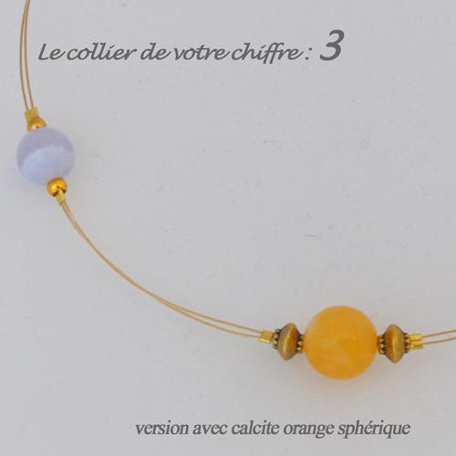 numerologie-collier-3-calcedoine-bleue-calcite-orange-sphere