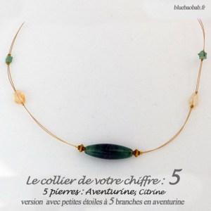 numerologie-collier-5-aventurine