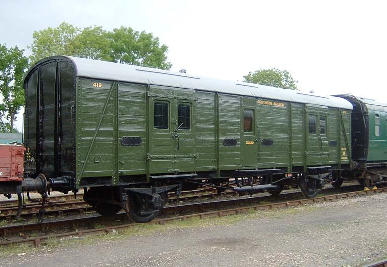 Image result for bluebell railway guard van