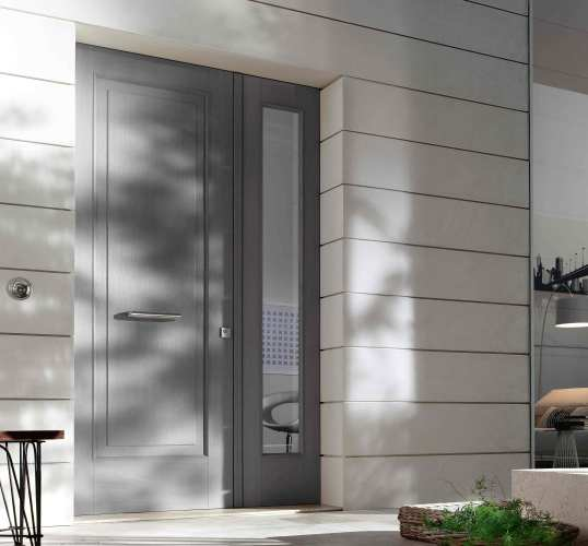 architectural design grey larch door