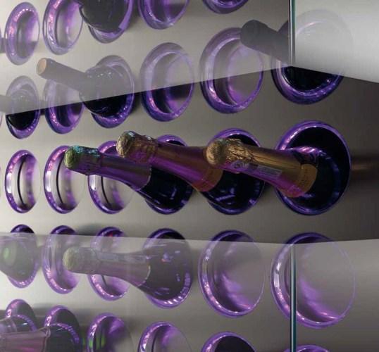 Slide opening Wine Storage