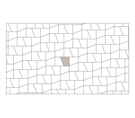 Slide Geometric Laying Pattern - Linear