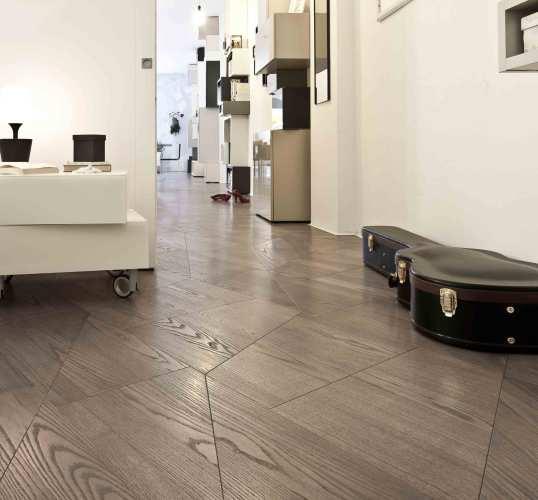 Sustainable geometric Oak Wooden Flooring