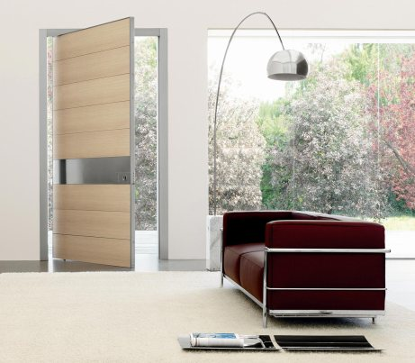 Brushed larch contemporary Security