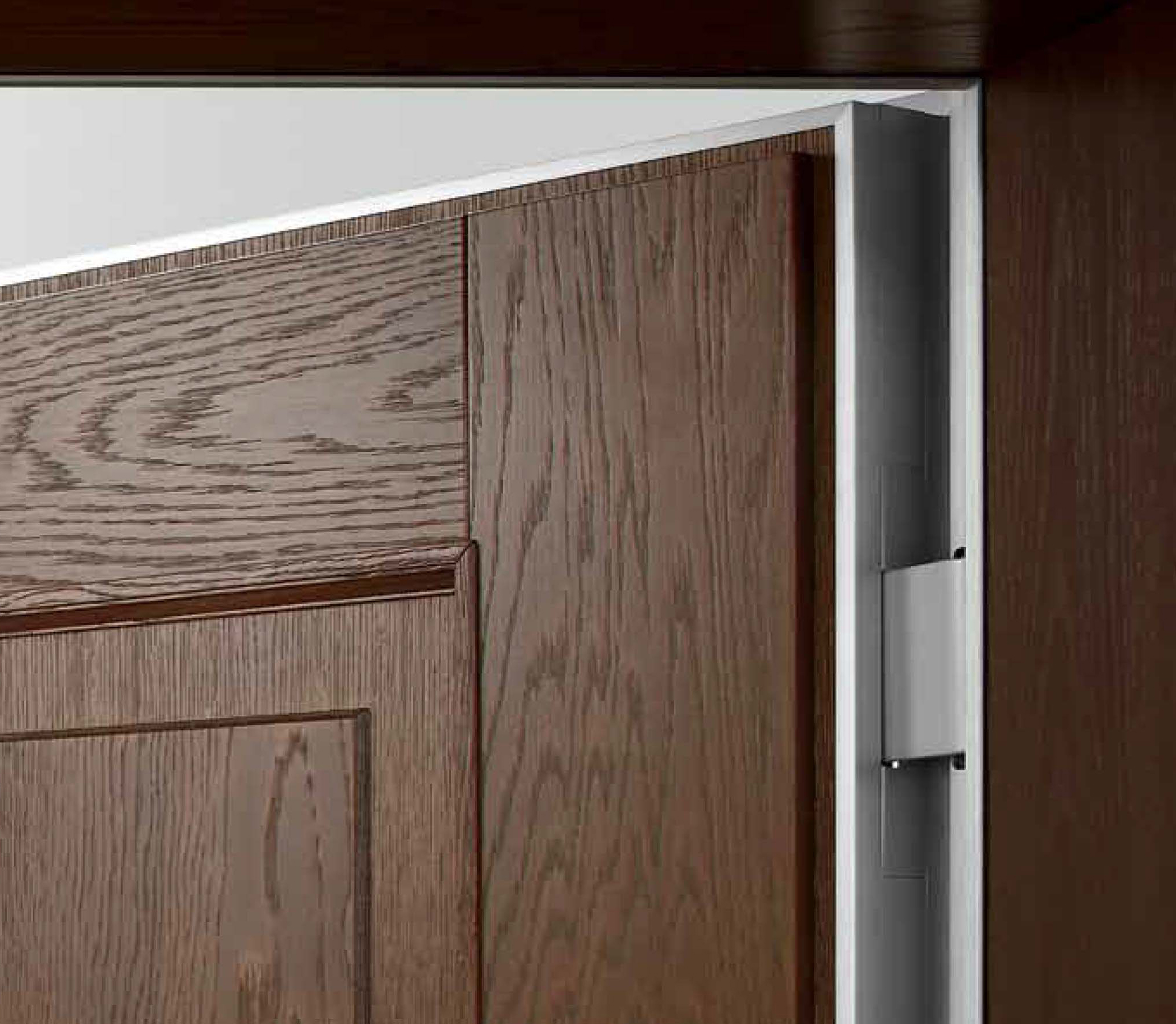 Tekno Flush Security Door Oikos Doors Bluebell Products