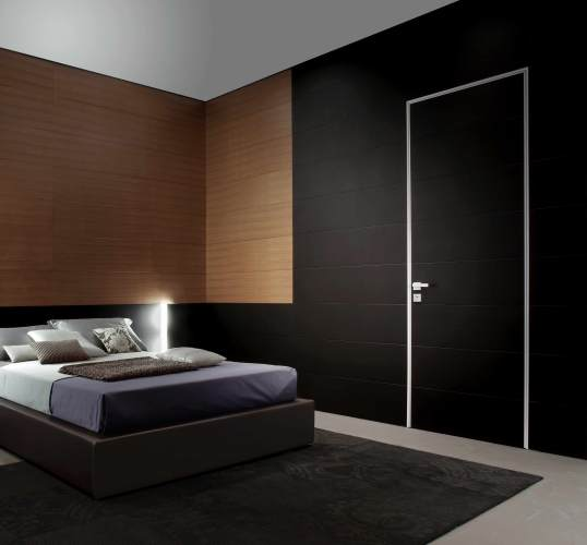 black safety door for indoors