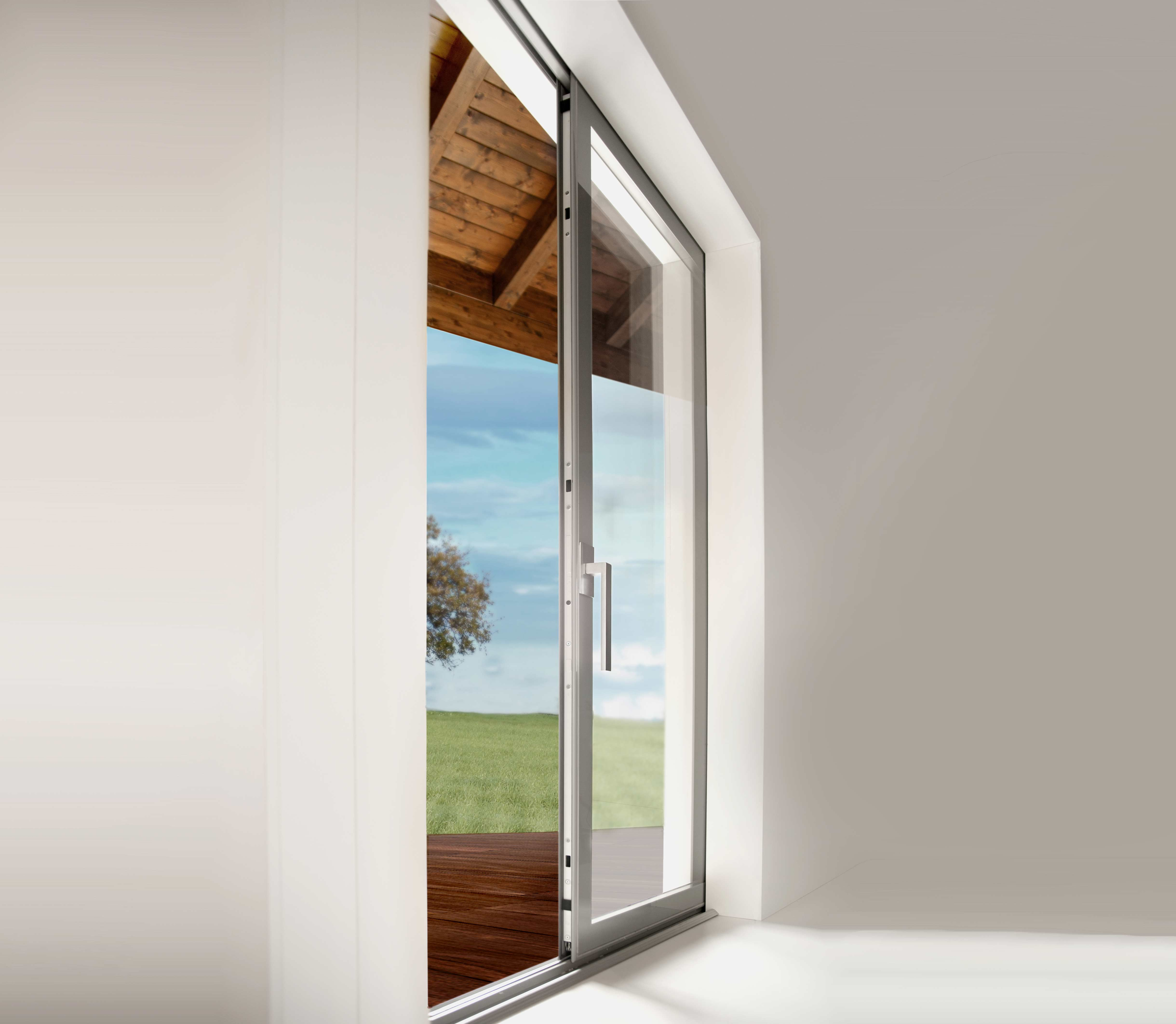 Zero 1 lift and slide es finestra glazing systems bluebell - Architrave finestra ...