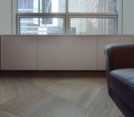 Museum Tower Listone Giordano Slide Geometric Wooden Flooring