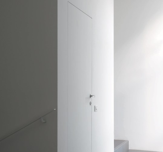 White flush interior Fire Door