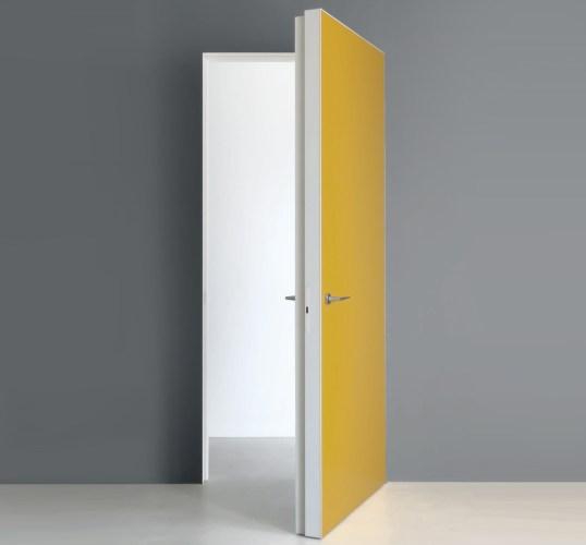Gold flush swing interior Door