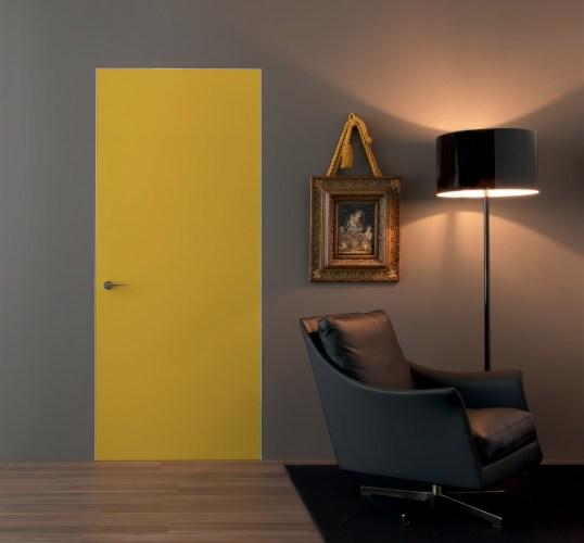 Fully flush gold interior Door