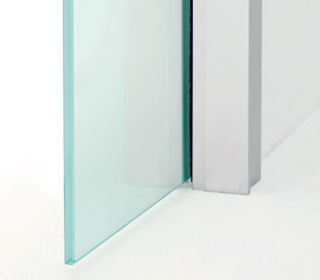 Glass panel on Pocket Door