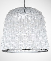 Crowns Architectural Lighting in carved glass