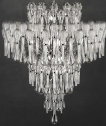 Luxury cut-glass and crystal Chandelier