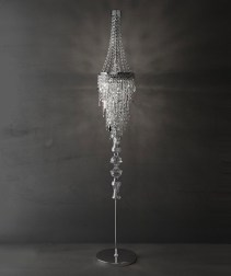 Swarovski crystal standing lamp from ITALAMP