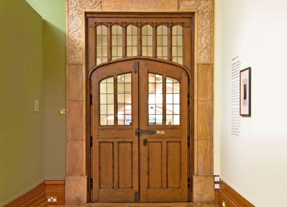 Contemporary replication of 1931 Door with C4 Security