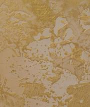 Textured Painting Technique in gold