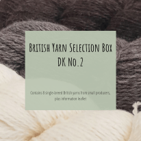 Title Image: British Yarn Selection Box DK No. 2