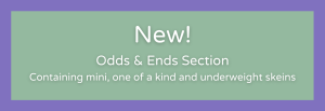 New Odds & Ends Section