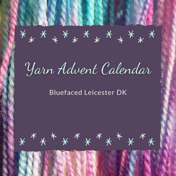 British Yarn Advent Calendar: Bluefaced Leicester DK