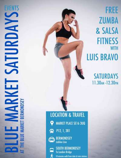 Blue Market Zumba and Salsa