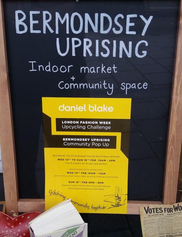 Bermondsey Uprising Daniel Blake