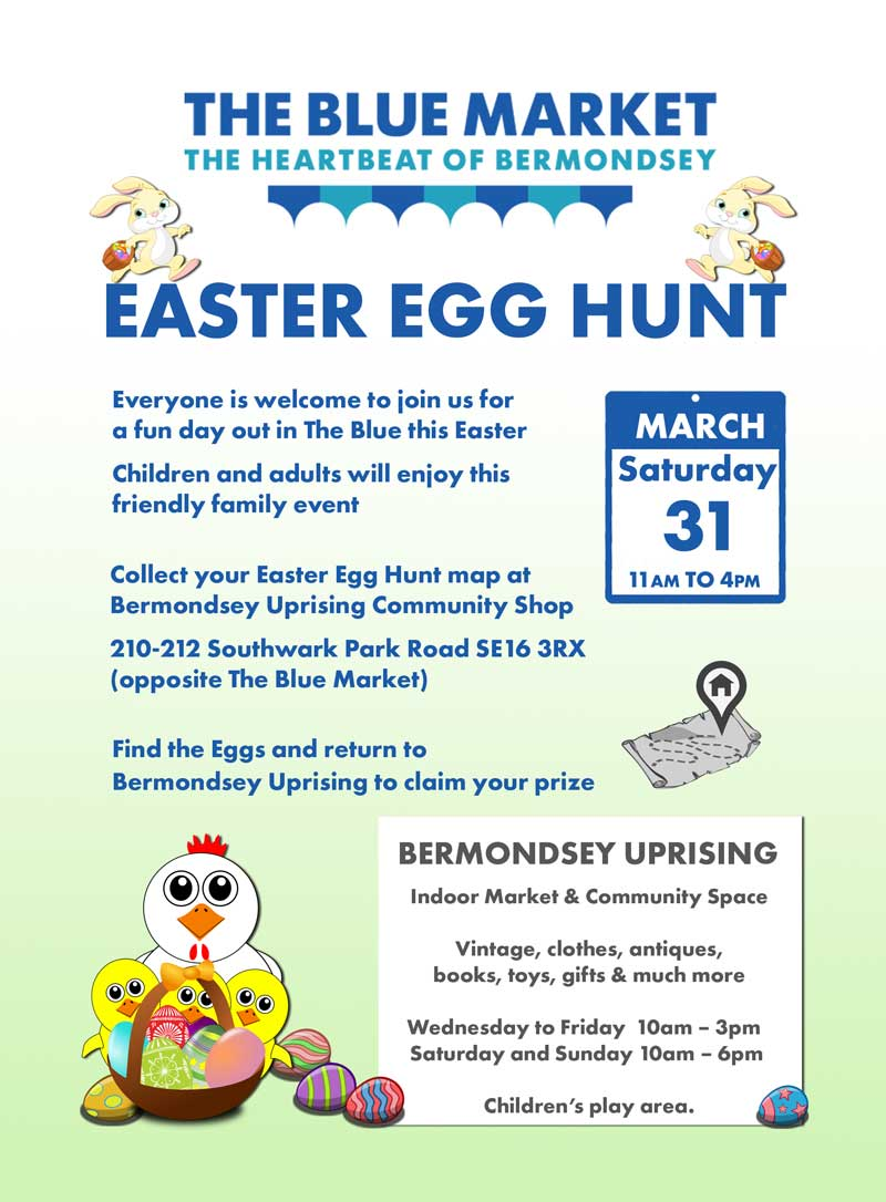 Blue Market Easter Egg Hunt