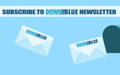 Blue-Bermondsey-Down-The-Blue-Newsletter-main-logo
