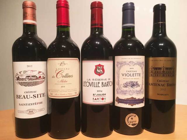 VSF Wines Bordeaux Wines