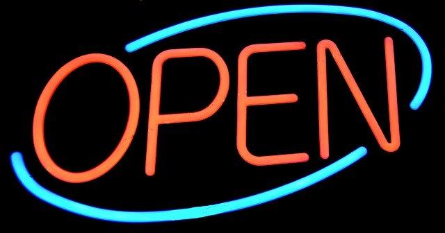Blue Bermondsey High Street 'Open For Business'