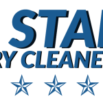 5 Star dry cleaners logo