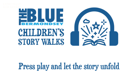 Blue Bermondsey Children's story Walks