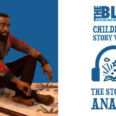 Blue Bermondsey Children's story Walks: Anansi Low res