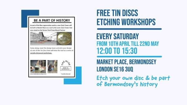 Made In Bermondsey Etching Event May 2021 FB event