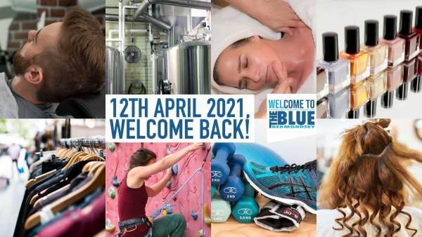 blue bermondsey 12 april 2021 reopening