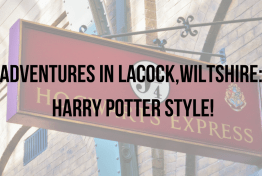 Adventures in Lacock,Wiltshire_HARRY POTTER STYLE!