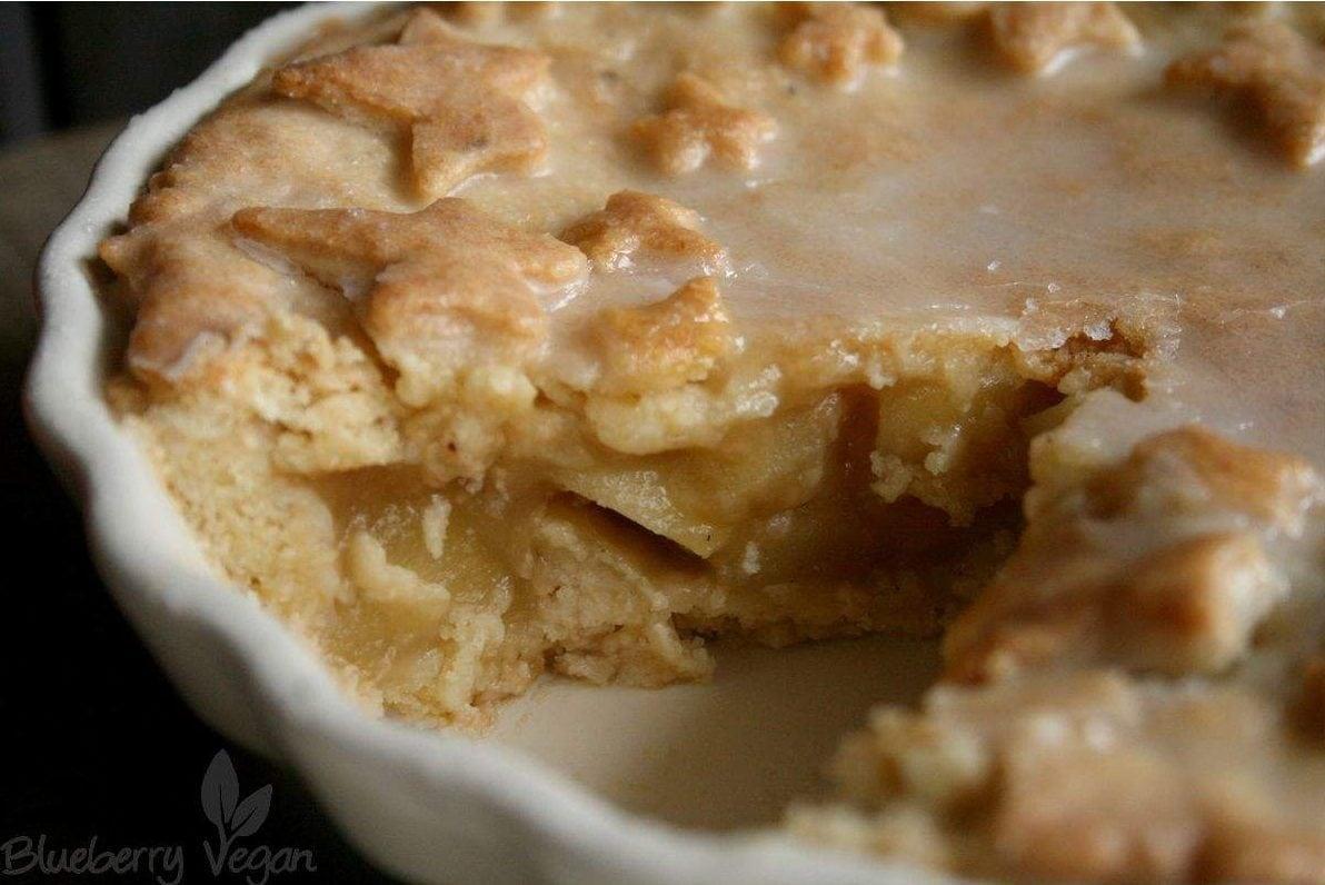Angeschnittener Apple Pie