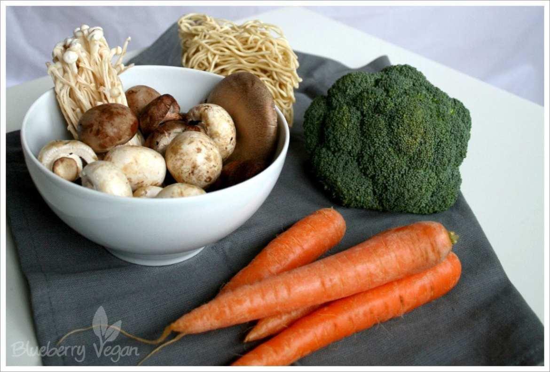 Zutaten Wokgemüse