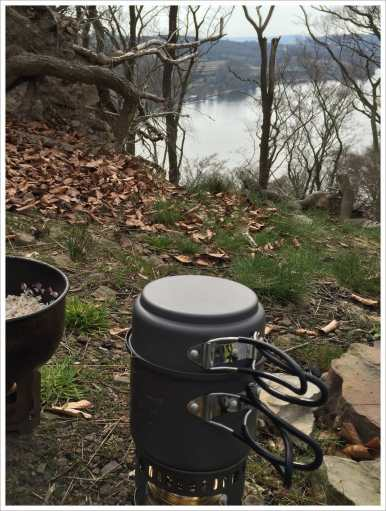 Kochen mit Seeblick
