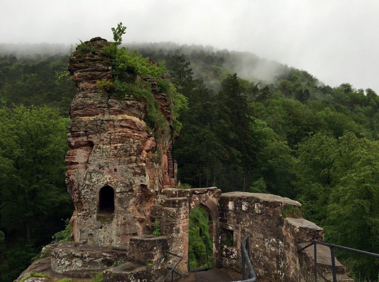 Wandern in der Südpfalz Teil I – Die Burgentour
