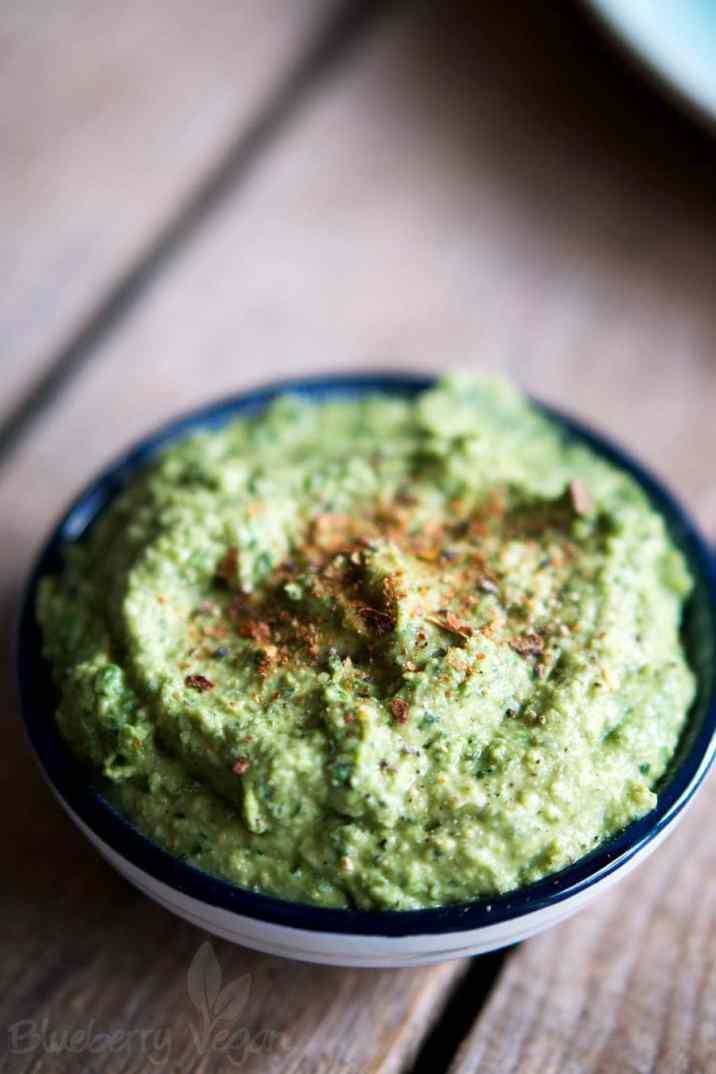 Spinat-Hummus Rezept