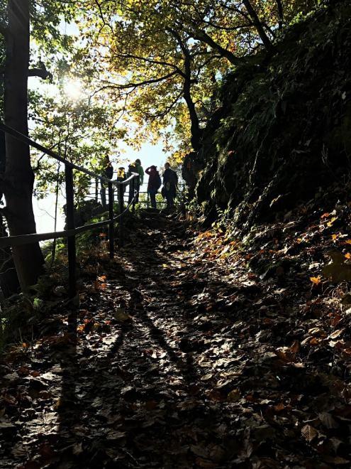 Wanderung am Drachenfels