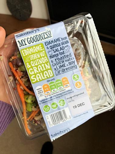 Sainsbury's Quinoa Salad