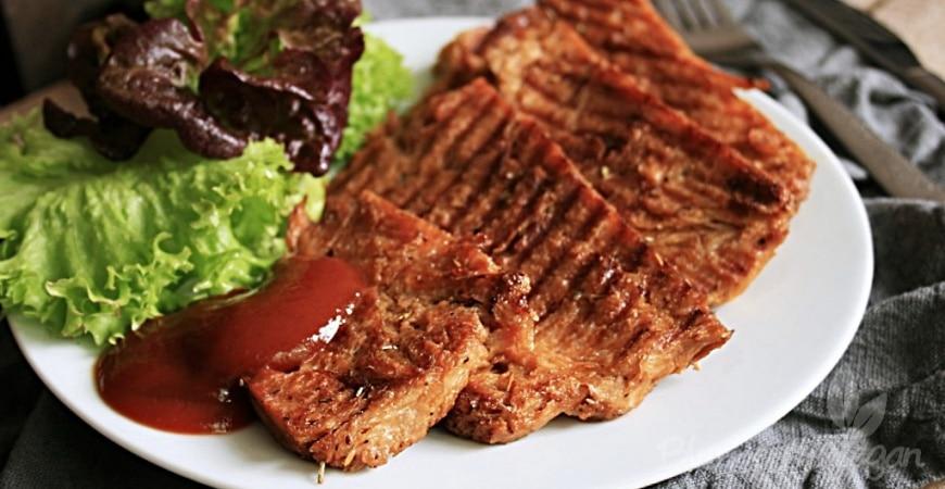 Würzige Soja-Grillsteaks